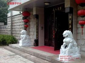 山东石狮子雕刻样式