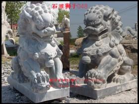 摆放石雕狮子有那规范